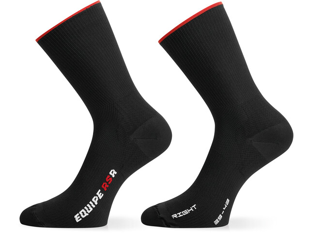 ASSOS RSR Chaussettes, national red